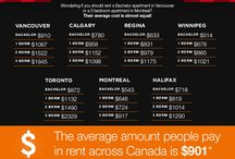 Infographics  /  Infographics we ♥ / by RentSeeker.ca