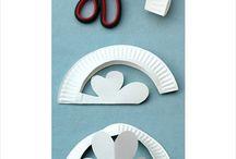 paper plates crafts