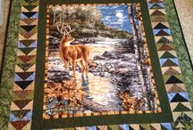 Panel quilts, tastefully done
