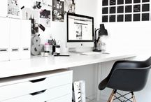 • Minimalist Desk Area •