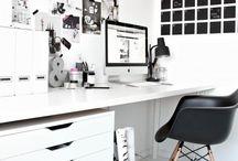 • Minimalist Desk Area •