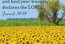 Healing scripture
