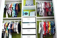 Deklan's closet
