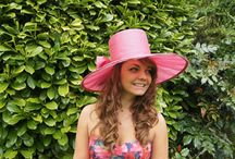 Millinery Creations - Out and About / Selection of hats and fascinators worn by my clients