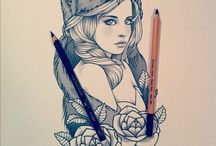 Illustration & Tattoo Flash Art