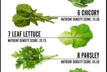 Zöldek mint főző alapok akar mint saláta alapok. / Egészséghez fontos anyagok.