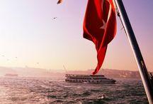 ~ ☪ TüRK ☪ ~ / BEN, 12 dakikada savaş bitiren Türküm!, denizleri göl haline getiren Türküm!, 40 kişi ile çin sarayını basan Türküm!, karada gemi götüren Türküm!, dünyayı bir çağdan diğer çağa atlatan Türküm!, yıllardır karada ve denizde hilal taktiğini uygulayan Türküm!, Ve yine eşi benzeri bulunmayan,mavi gözlü bir dev oLuşturan Türküm Ben; Damarlarinda Asil Kanin Aktigi Irkim, Benden Bahseder Destanim, Agitim,  TÜRK'üm, Ben TÜRK'üm, Taa Iliklerime Kadar MUSTAFA KEMAL ATATÜRK'üm !..  Ya Siz Kimsiniz ..?
