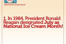 National Ice Cream Month / 31 days of ice cream and novelties facts, tips and ideas!  / by Easy Home Meals