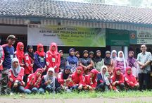 Bhakti Sosial KSR PMI dan BEM POLSA / Bhakti Sosial mahasiswa KSR PMI Unit POLSA & BEM di Desa Kedung Pomahan Kemiri