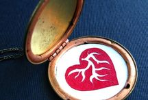 hearts / by Marie HeartofGold Swanson