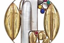 Jewelry - Wiener Werkstätte - Josef Hoffmann e Koloman Moser