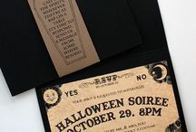 Halloween Wedding Theme / Different Ideas for Halloween Themed Wedding!