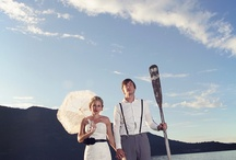 bride and groom / by Liberty Pearl Photography