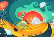 Ioana Halunga Illustrations / illustrations