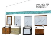 """24"""" VANITIES / NEED a design?  Send Info to marmotechpr@gmail.com or in facebook"""