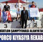 Türkiye Biatlon Şampiyonası Alanya'da Yapıldı