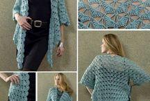 Patrones / chaquetas tejidas a crochet