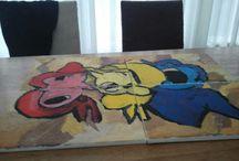 schilderijen van mezelf