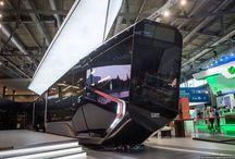 New tram RUSSIA / В Екатеринбурге Уралвагонзавод представит свой новый трамвай RUSSIA ONE на выставке «Иннопром-2014». Трамвай наш – дизайн, разработка и производство – все сделано у нас. Иностранные только некоторые комплектующие – гармошка и механизмы дверей. Трамвай выглядит очень круто. Если серийный образец будет не сильно отличаться от представленного вагона, то это будет первый отечественный трамвай, за который не стыдно.