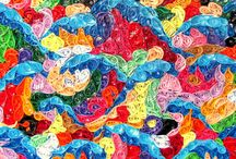 Quilling / Paper art-crafts- quilling