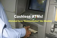 "ATMs Go ""Cashless"" In Allahabad!"