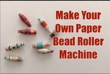 Make your own paper bead machine