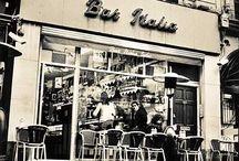 Classic Italian bars cafes and