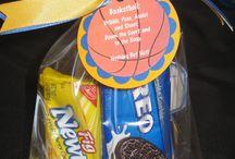 Basketball treat ideas