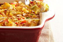 Chicken - Casseroles, One-Pots / by Claudi Gallagher