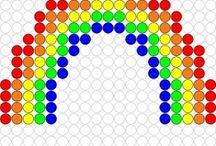 Strijkkralen patronen