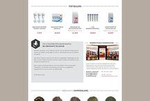 Food - Onlineshops - Shopware Design / Inspirierende Webdesigns, Themes und Templates für Onlineshops der Kategorie Food