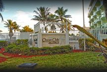 2080 E Hillsboro Boulevard, Unit 203 / Condominium in Deerfield Beach direct ocean views from your balcony on the second floor of this five story building. A boutique style building. Rent right away, daily rentals allowed. This is a buyers & investors opportunity.