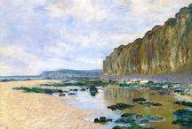 Monet sziklás tengerpart