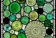grønt glass