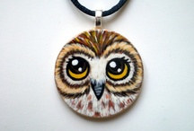 for OWL lovers / everything about owls, photos -  art & craft and gift ideas