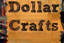 Dollar Crafts for Kids / Inexpensive crafts that you can do with your kids during summer or on holiday break.