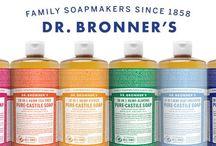 Dr Bronner's / Des savons depuis 1858 aux ingrédients biologiques et reconnus pour leur qualité et leur pureté !