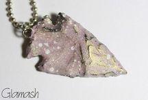 Création Glamash by Jennysioux / Collection des bijoux fait par mes soins. Vous pouvez retrouver mes créas sur ma boutique Etsy : Glamash ! / by Jenny Sioux