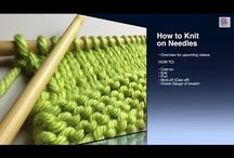 Knitting / How to for dummies