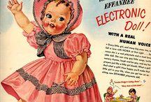 Vintage Doll Advertise