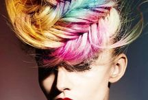 Multicolored Hair / Beautiful multicolored hair styles  / by Bree Schmidt