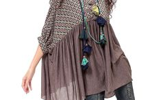 туники и платья