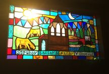 Fiona Radford Stained Glass Commissions / Glass projects made by me ...,