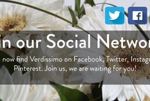 Join our Social Networks  ....  Únete a nuestras Redes Sociales / Ya puedes encontrar a Verdissimo en Facebook, Twitter, Instagram y Pinterest. Anímate a formar parte de nuestras redes sociales, ¡Te esperamos!   You can now find Verdissimo on Facebook, Twitter, Instagram and Pinterest. Join us, we are waiting for you!
