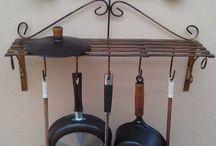 Ideias para Cozinha Caipira: Paneleiros e afins...