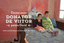 David in cautarea unui ''donator de viitor''