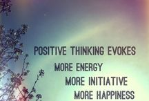 Positive thinking...positive living