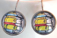 Bookish jewellery