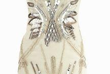 Sequinced dress