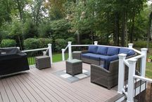 Deck Projects / Modern designs and construction methods used to create beautiful decks.